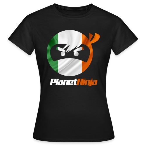 Irish White Ninja womens T-shirt - Women's T-Shirt