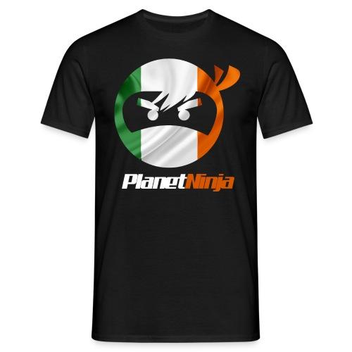 Irish White Ninja mens T-shirt - Men's T-Shirt