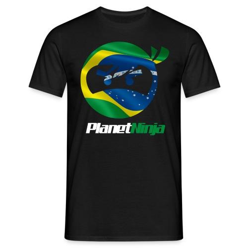 Brazilian White Ninja mens T-shirt - Men's T-Shirt
