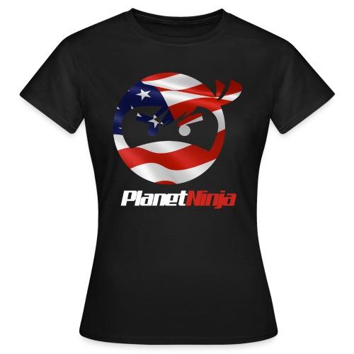 US White Ninja womens T-shirt - Women's T-Shirt