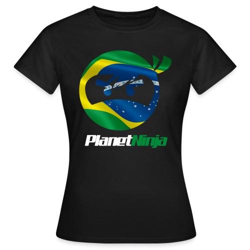 Brazilian White Ninja womens T-shirt - Women's T-Shirt