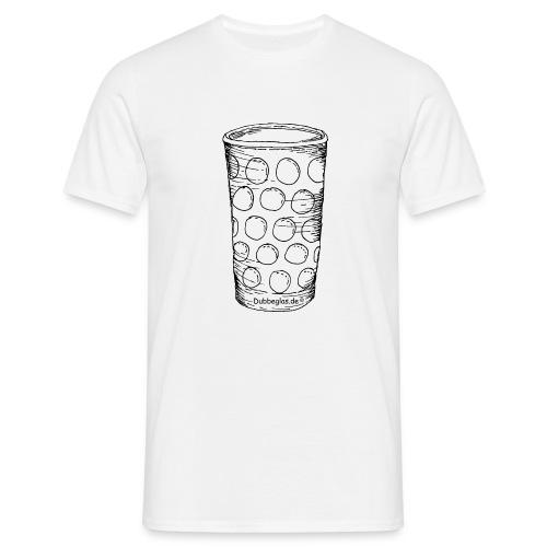 Dubbe und sonst nix.... - Männer T-Shirt