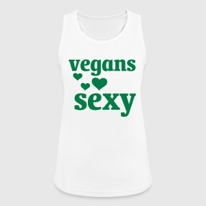 VEGANS ARE SEXY Sports wear - Women's Breathable Tank Top