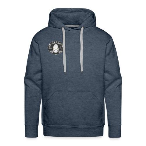 Grusbanden Herre Hoodie - Ocean Blue - Herre Premium hættetrøje