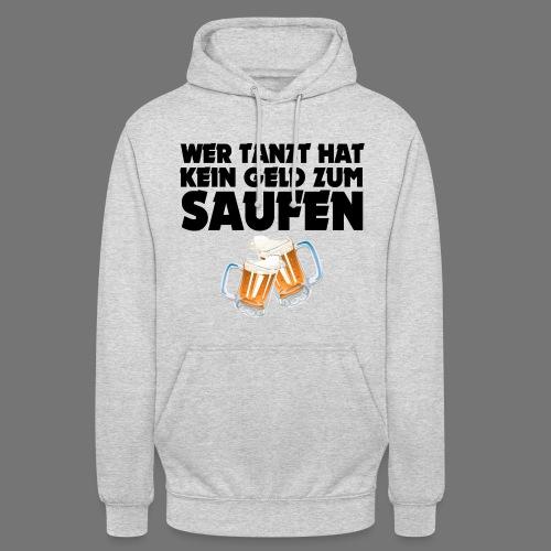 Saufen Hoodie Hellgrau - Unisex Hoodie