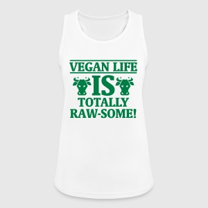A VEGAN IS THE MOO BY LIFE! Sports wear - Women's Breathable Tank Top