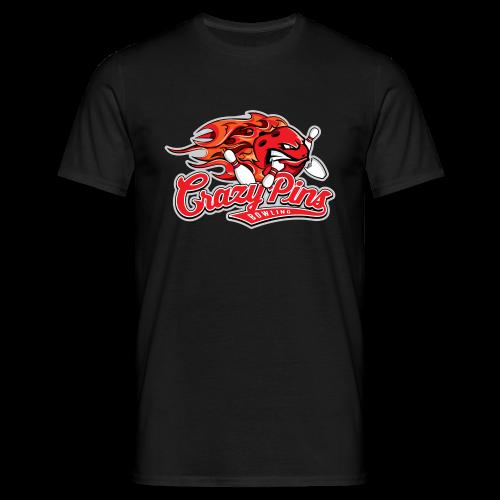 T-Shirt Crazy Pins Bowling - Männer T-Shirt