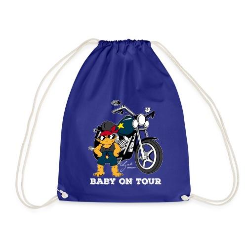 Baby on Tour - Biker Baby - Turnbeutel