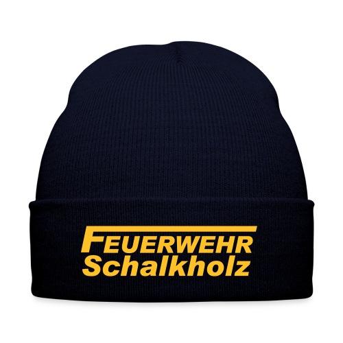 Wintermütze mit Logo Gelb - Wintermütze