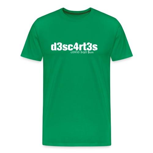 L33t Descartes - Männer Premium T-Shirt
