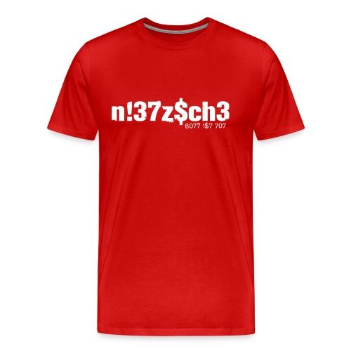 L33t Nietzsche - Männer Premium T-Shirt