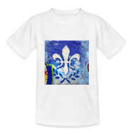T-Shirts ~ Teenager T-Shirt ~ Lilien Graffiti