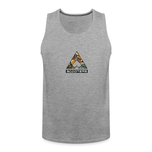 MENS ACE TANK - FULL (GRY) - Men's Premium Tank Top