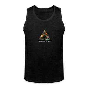 MENS ACE TANK - FULL (CHAR-GRY) - Men's Premium Tank Top