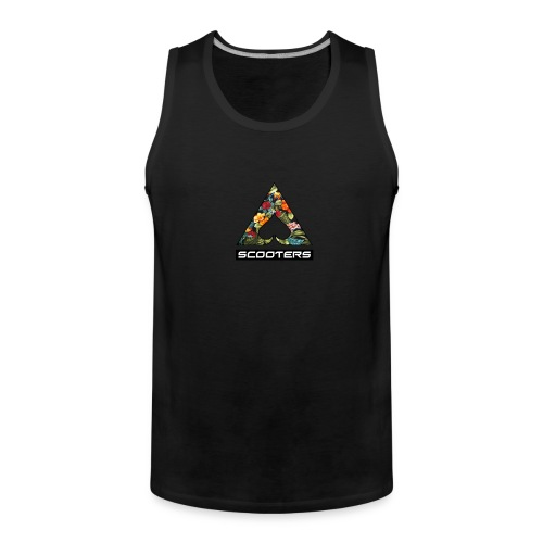 MENS ACE TANK - FULL (BLK) - Men's Premium Tank Top