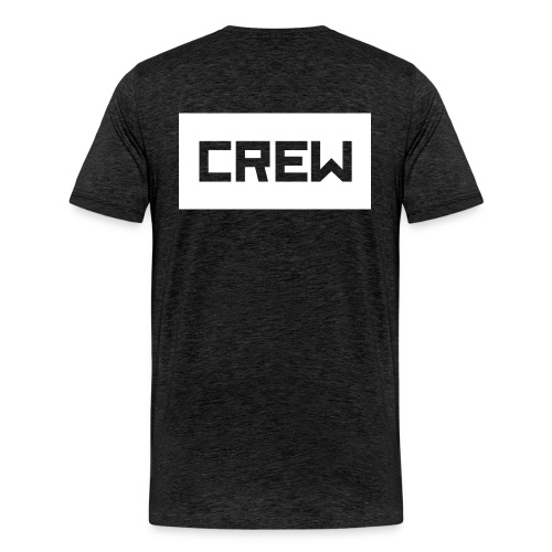 CR3W shirt grey - Mannen Premium T-shirt