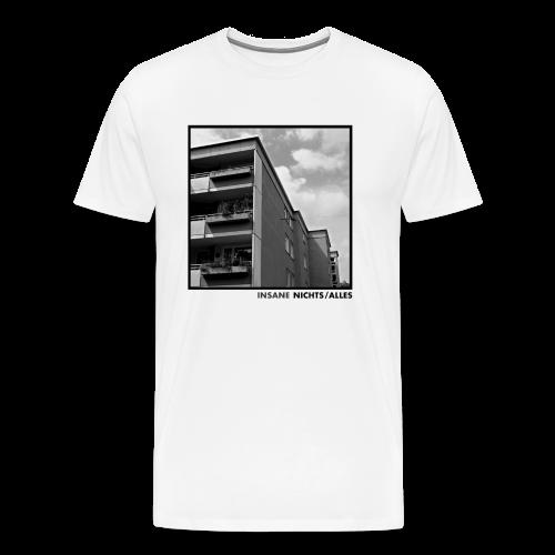 T-Shirt Insane - Nichts/Alles Weiß - Männer Premium T-Shirt