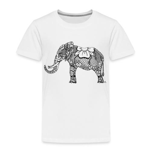 """T-Shirt Enfant Éléphant oriental"""" - T-shirt Premium Enfant"""