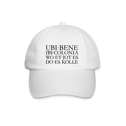 UBI BENE IBI COLONIA Kölsch Köln Design