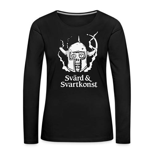 Långärmad t-shirt, dam - Långärmad premium-T-shirt dam