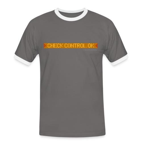 Pixel Pixelfehler - Männer Kontrast-T-Shirt