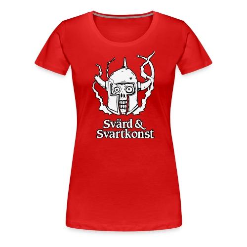 T-shirt, deluxe, dam - Premium-T-shirt dam