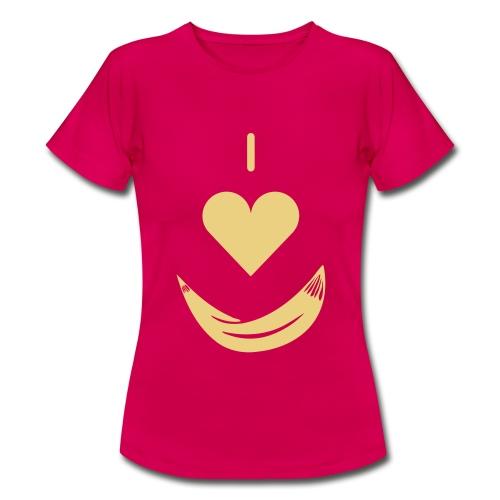 LOVE MY HÄNGEMATTE / LOVE MY HAMMOCK - Frauen T-Shirt
