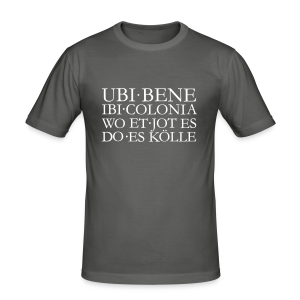 UBI BENE DO ES KÖLLE Köln Slim Fit T-Shirt - Männer Slim Fit T-Shirt
