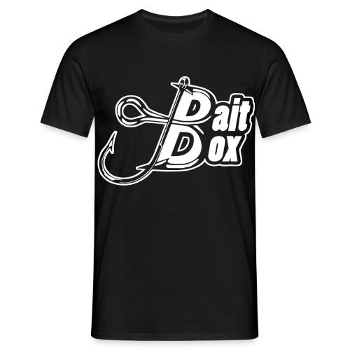 Baitbox logo - Vitt tryck - T-shirt herr