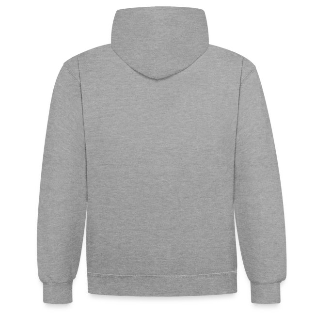 Deeps hoodie bicolor logo noir
