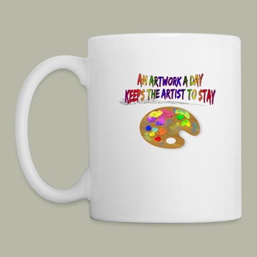 Künstlerkaffeetasse - Tasse