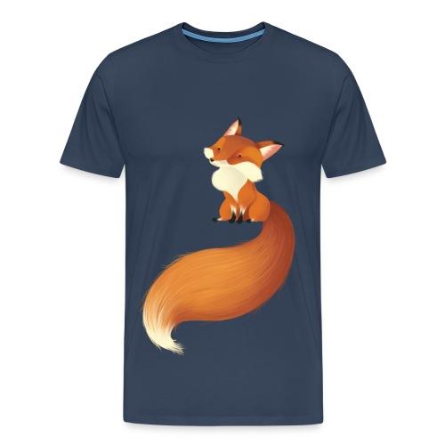 Niedlicher Fuchs - Männer Premium T-Shirt