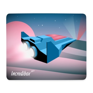 SPACESHIP MOUSE MAT - Mouse Pad (horizontal)