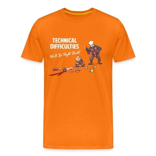Doom Parody - T-Shirt - Men's Premium T-Shirt