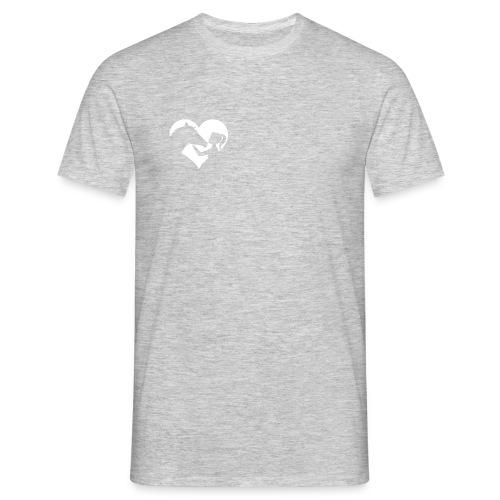 Horse Girlie Heart mint - Männer T-Shirt