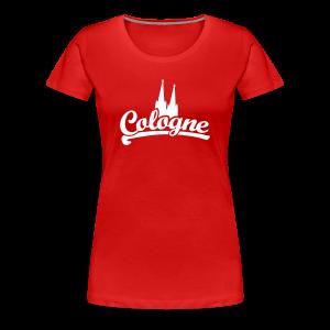 Cologne Dom Klassik S-3XL Köln T-Shirt - Frauen Premium T-Shirt