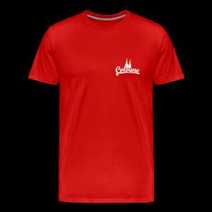 Cologne Dom Klassik S-5XL Köln T-Shirt - Männer Premium T-Shirt