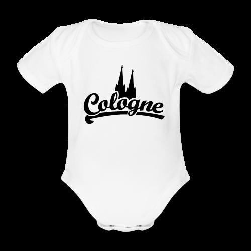 Cologne Dom Klassik Köln Babybody - Baby Bio-Kurzarm-Body