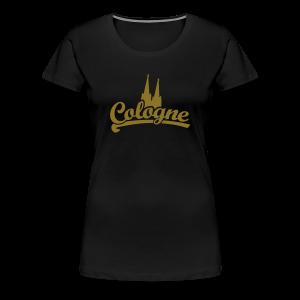 Cologne Dom Klassik S-5XL Köln T-Shirt - Frauen Premium T-Shirt