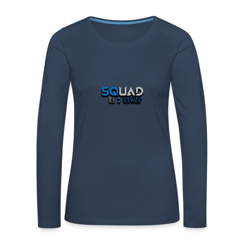 Navy Squad Shirt - Women's Premium Longsleeve Shirt