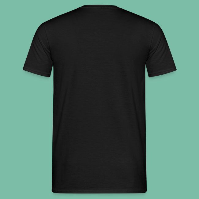 Tee shirt noir Homme arbre Brocéliande  Spirit