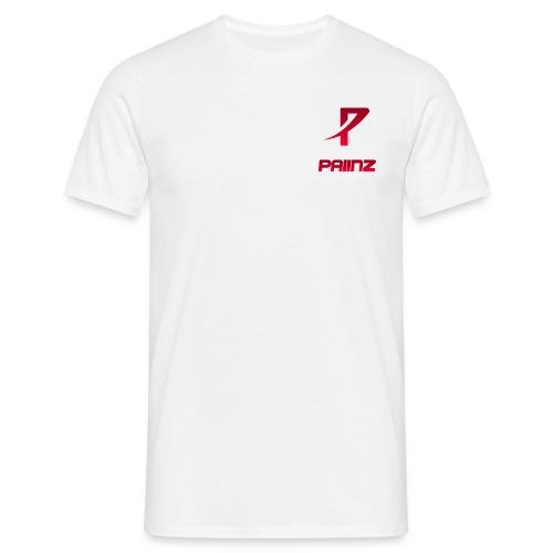imPaiinz Männer Shirt Weiss - Männer T-Shirt