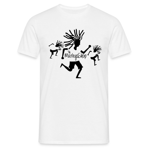 the marley shop white t-shirt - Men's T-Shirt