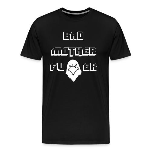 Hawk Vision Bad Mofo T-Shirt Black - Männer Premium T-Shirt