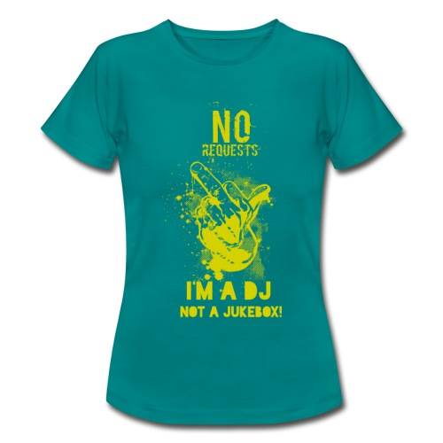 No Request Yellow - Women's T-Shirt