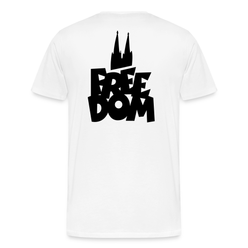 FREE DOM Köln S-5XL T-Shirt - Männer Premium T-Shirt