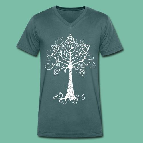 tee shirt homme arbre phareBrocéliande  Spirit - T-shirt bio col V Stanley & Stella Homme