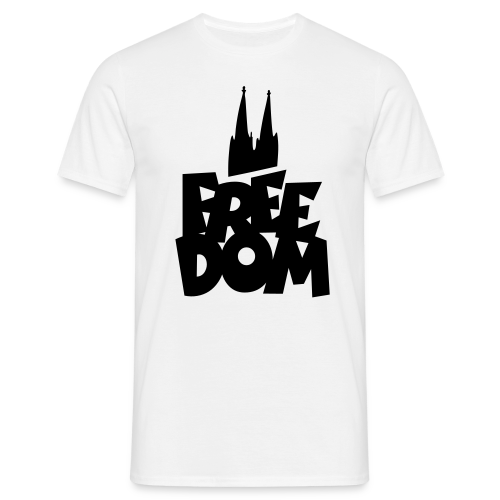 FREE DOM Köln T-Shirt - Männer T-Shirt