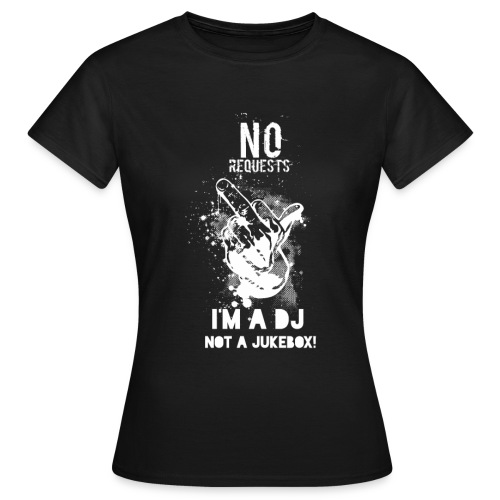 No Request White - Women's T-Shirt