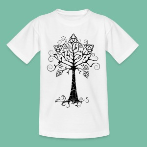 tee shirt enfant arbre phare Brocéliande  Spirit - T-shirt Ado